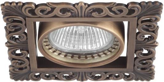 Встраиваемый светильник Donolux SA1563-Old Brass встраиваемый светильник donolux sa1563 old brass