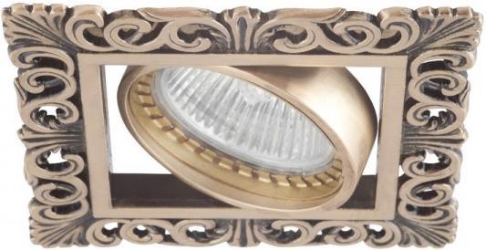 Встраиваемый светильник Donolux SA1563-Old Gold встраиваемый светильник donolux sa1563 old brass