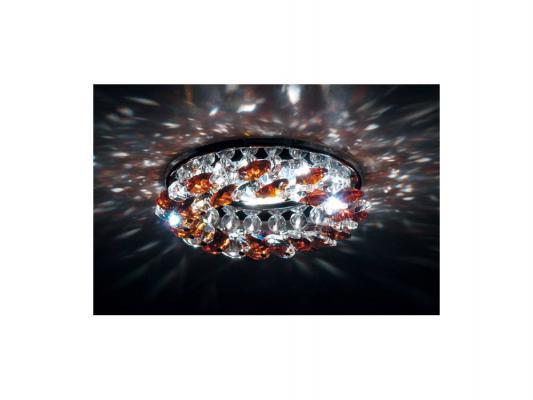 Встраиваемый светильник Donolux DL061.02.1/7 crystal/topaz точечный светильник donolux dl062 02 1 7 crystal topaz
