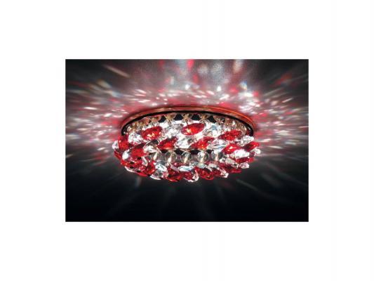 Встраиваемый светильник Donolux DL061.79.1/6 crystal/red 110db loud security alarm siren horn speaker buzzer black red dc 6 16v