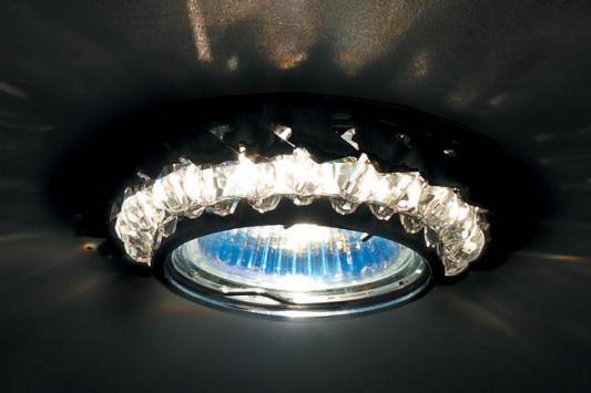 Встраиваемый светильник Donolux DL062.02.1/12 crystal/jet светильник donolux sa1541 sa1543 alu