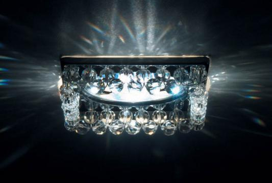 Встраиваемый светильник Donolux DL065.79.1 crystal