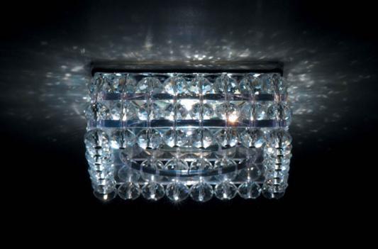 Встраиваемый светильник Donolux DL066.02.1 crystal