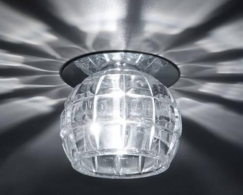 Встраиваемый светильник Donolux DL071CH/Crystal встраиваемый светильник donolux dl067 02 1 crystal