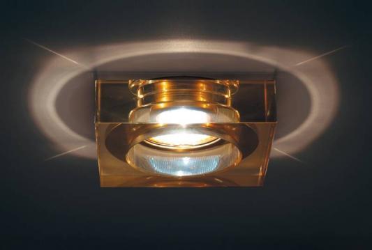 Встраиваемый светильник Donolux DL132CH/Shampagne gold накладная люстра 919 08 33 gold dark chrome shampagne n light