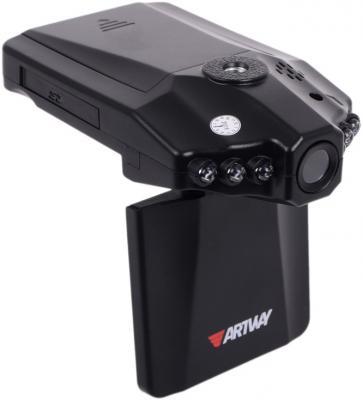 Видеорегистратор Artway HD-022 2.5 1280x720 120° microSD microSDHC видеорегистратор mystery mdr 840hd 1 5 1920x1080 5mp 120° microsd microsdhc hdmi
