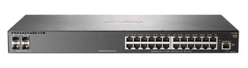 Фото - Коммутатор HP Aruba 2930F управляемый 24 порта 10/100/1000 PoE+ 4 SFP JL255A коммутатор huawei s1720 28gwr 4p bundle 24 ethernet 10 100 1000 ports 4 gig sfp with license ac 110 220v