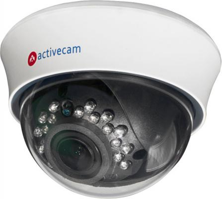 Камера IP ActiveCam AC-D3123IR2 CMOS 1/2.8 1920 x 1080 H.264 RJ-45 LAN PoE белый видеокамера ip activecam ac d2121wdir3 1 9 мм белый