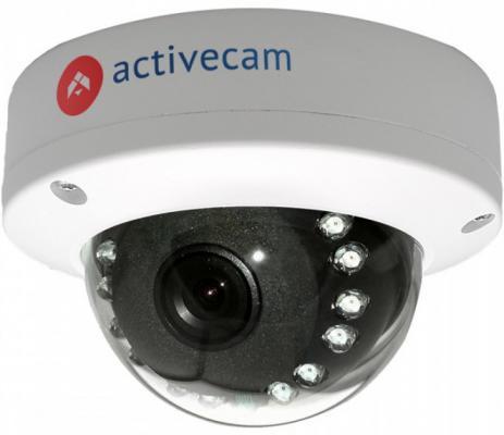 """Камера IP ActiveCam AC-D3101IR1 CMOS 1/4"""" 1280 x 720 H.264 RJ-45 LAN PoE белый"""