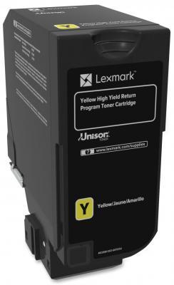 Картридж Lexmark 74C5SYE для CX725de CX725dhe CS725de CS720de желтый 7000стр compatible toner lexmark c930 c935 printer laser use for lexmark refill toner c940 c945 toner bulk toner powder for lexmark x940