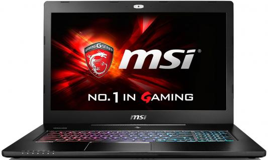 Ноутбук MSI GS72 6QE-436RU 17.3 1920x1080 Intel Core i7-6700HQ 9S7-177514-436 ноутбук msi gs43vr 7re 094ru phantom pro 9s7 14a332 094