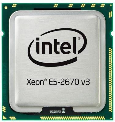 Процессор Dell Intel Xeon E5-2670v3 2.3GHz 30M 12C 120W 338-BGNM