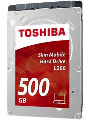 "Жесткий диск для ноутбука 2.5"" 500 Gb 5400rpm 8Mb cache Toshiba L200 Slim SATAIII HDWK105UZSVA"