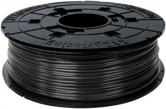 Пластик для принтера 3D XYZ PLA черный 1.75/600гр RFPLBXEU00H пластик для принтера 3d xyz abs зеленый 1 75 мм 600гр rf10xxeuzwk