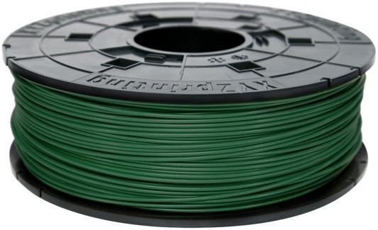 Пластик для принтера 3D XYZ ABS зеленый 1.75 мм/600гр RF10BXEU06D abs картридж xyz синий 1 75 мм 600гр 4715872745404