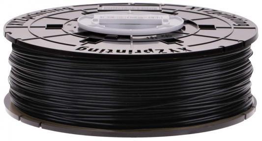 Пластик для принтера 3D XYZ PLA для Junior черный 1.75/600гр RFPLCXEU01B RFPLC-FGB-PGK-TH-552-0868 пластик для принтера 3d xyz pla натуральный 1 75 600гр rfplbxeu01f rfplb fl8 q6z th 74q s029