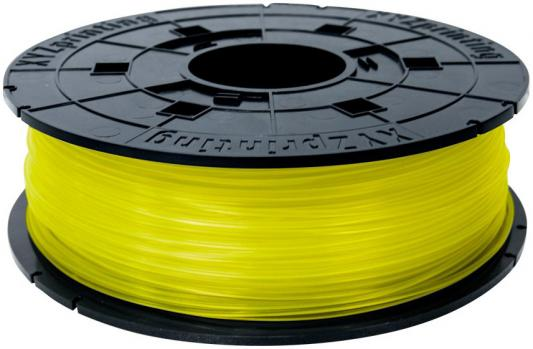 Пластик для принтера 3D XYZ PLA желтый 1.75/600гр RFPLAXEU00E