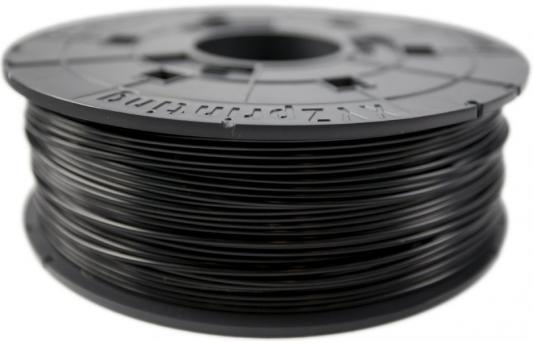 Пластик для принтера 3D XYZ ABS черный 1.75 мм/600гр RF10XXEU02D пластик для принтера 3d systems cubepro abs черный 401415 01