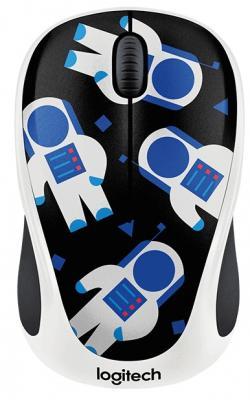 Мышь беспроводная Logitech M238 Party Collection Космонавт - SPACEMAN USB 910-004716 logitech m238 ophelia owl 910 004474
