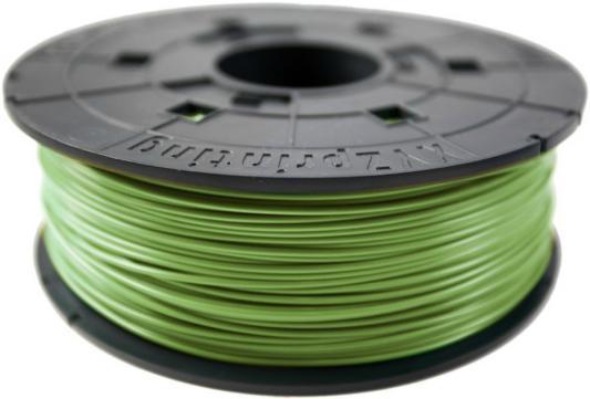Пластик для принтера 3D XYZ ABS оливковый 1.75 мм/600гр RF10XXEU09B пластик для принтера 3d xyz abs белый 1 75 мм 600гр rf10bxeu02b