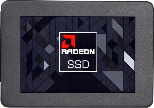 "Твердотельный накопитель SSD 2.5"" 120Gb AMD Write 520Mb/s Read 360Mb/s SATAIII RADEON R3SL120G ssd твердотельный накопитель 2 5 480gb crucial micron 5100eco read 540mb s write 520mb s sataiii mtfddak480tby 1ar1zabyy"