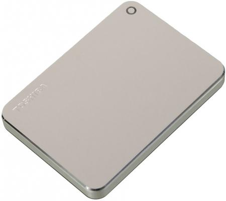 "Внешний жесткий диск 2.5"" USB3.0 2Tb Toshiba HDTW120EC3CA серебристый"