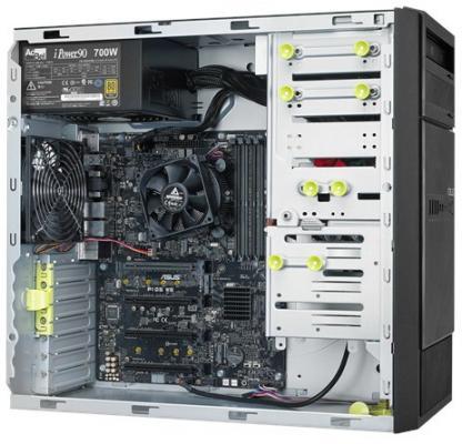 Серверная платформа Asus ESC500 G4 серверная платформа asus ts300 e8 ps4