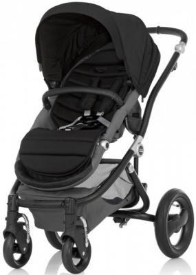 Коляска прогулочная без цветных вставок Britax Affinity 2 (black) люльки britax для коляски affinity 2