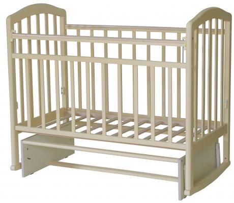 Кроватка с маятником Антел Алита-3 (слоновая кость)