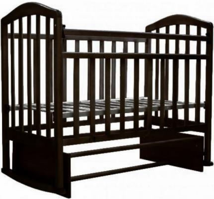 Кроватка с маятником Антел Алита-3 (венге)