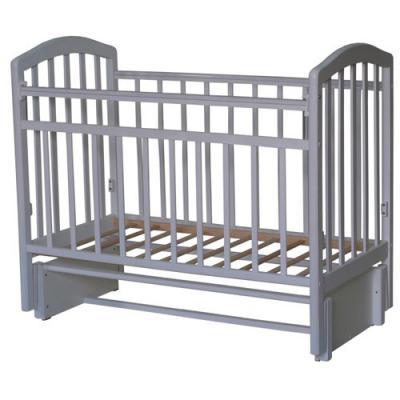 Кроватка с маятником Антел Алита-3 (белый)