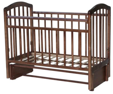 Кроватка с маятником Антел Алита-5 (бук)
