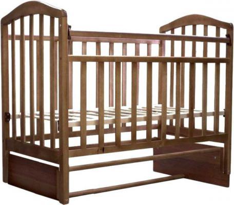 Кроватка с маятником Антел Алита-5 (орех)
