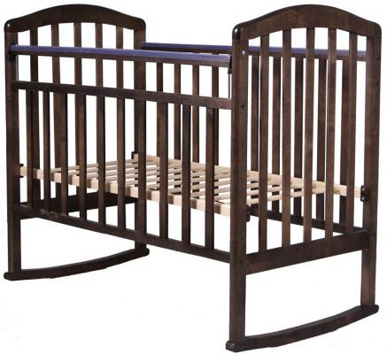 Кроватка-качалка Антел Алита-2 (венге)