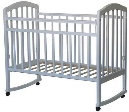 Кроватка-качалка Антел Алита-2 (белый)