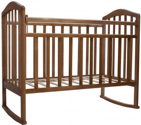 Кроватка-качалка Антел Алита-2 (орех)