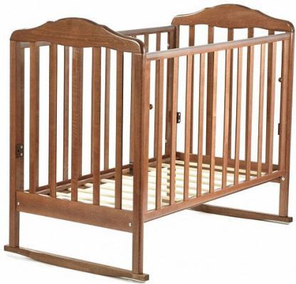 Кроватка-качалка СКВ Березка (орех/170117)