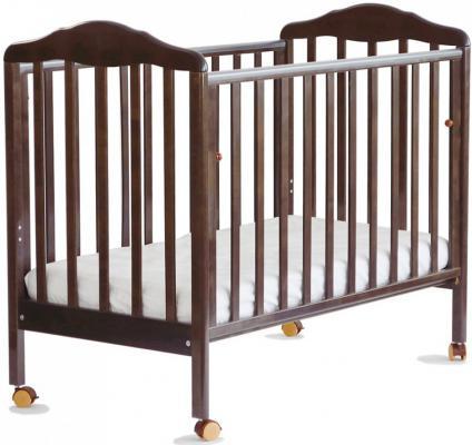 Кроватка-качалка СКВ Березка (венге/170118)