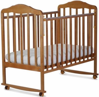 Кроватка-качалка СКВ Березка (бук/120116) кроватка скв березка 121115 береза