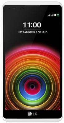 Смартфон LG X Power K220DS 16 Гб черный белый (LGK220DS.ACISWK) смартфон lg q6a 16 гб платина lgm700 acispl