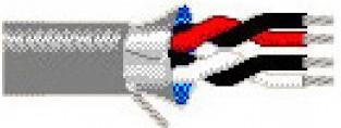 Кабель информационный Belden 9502.01305 RS-232 SF/UTP общий экран в оплётке PVC универсальный 305м хром кабель информ belden 8471 00u305 multi conductor u utp 1x2x16awg pvc внутр 305м хром