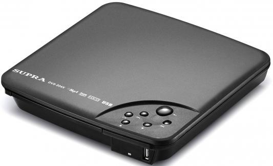 Проигрыватель DVD Supra DVS-204X черный dvd плеер supra dvs 204x dvd плеер black