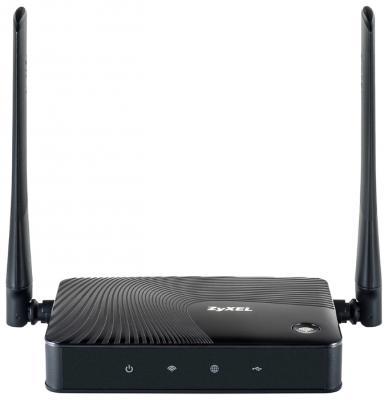 Беспроводной маршрутизатор Zyxel Keenetic 4G III 802.11n 300Mbps 2.4 ГГц 1xLAN RJ-45 черный Rev. B маршрутизатор zyxel keenetic lite iii rev b