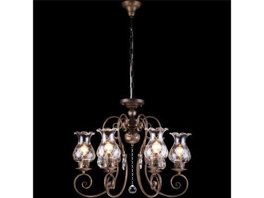 Подвесная люстра Arte Lamp Palermo A2053LM-6BR люстра на штанге arte lamp joy a7310pl 6br