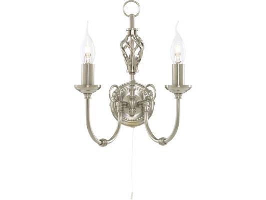 Бра Arte Lamp Zanzibar A8392AP-2SS arte lamp бра zanzibar a8392ap 2ss