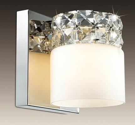 Бра Odeon Ottavia 2749/1W светильник настенный бра коллекция ottavia 2749 1w хром хрусталь odeon light одеон лайт