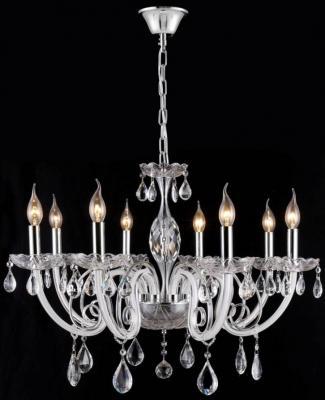Подвесная люстра Crystal Lux Glamour SP-PL8 crystal lux подвесная люстра crystal lux glamour sp pl8