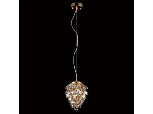 Подвесной светильник Crystal Lux Charme SP1+1 LED Gold/Amber