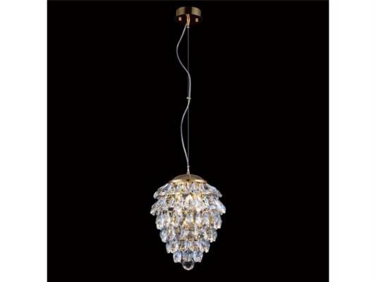 Подвесной светильник Crystal Lux Charme SP2+2 LED Gold/Transparent подвесной светильник charme sp3 3 led gold transparent crystal lux 1154265