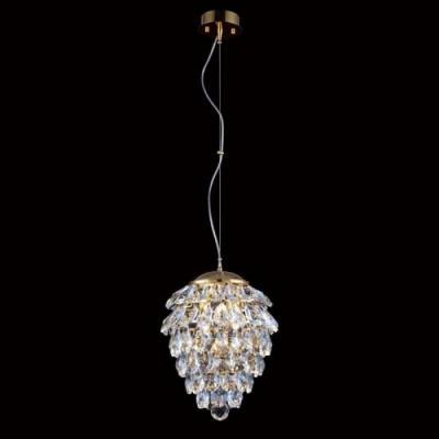 Подвесной светильник Crystal Lux Charme SP3+3 LED Gold/Transparent подвесной светильник charme sp3 3 led gold transparent crystal lux 1154265